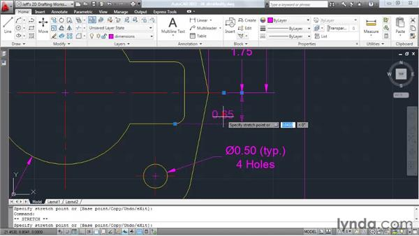 Modifying dimensions: AutoCAD 2011 Essential Training