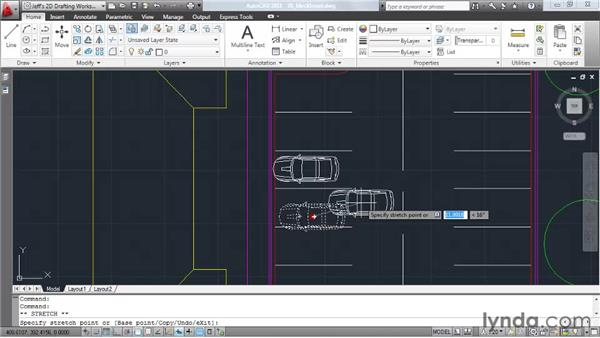 Inserting blocks: AutoCAD 2011 Essential Training