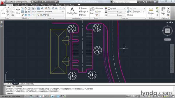 Creating blocks: AutoCAD 2011 Essential Training