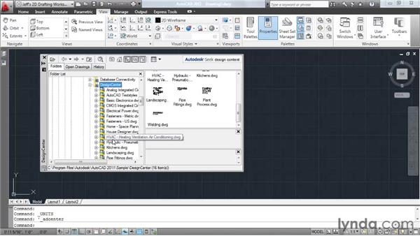 Building a block library: AutoCAD 2011 Essential Training