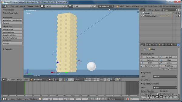 Taking measurements using the Distance command: AutoCAD 2011 Essential Training