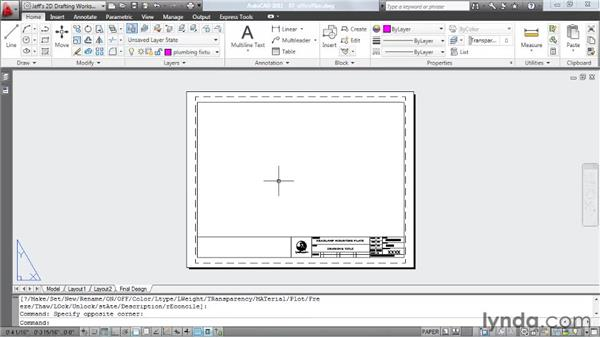 Reusing layouts: AutoCAD 2011 Essential Training