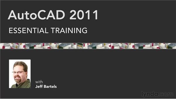Goodbye: AutoCAD 2011 Essential Training