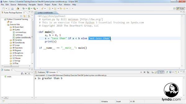 Welcome: Python 3 Essential Training