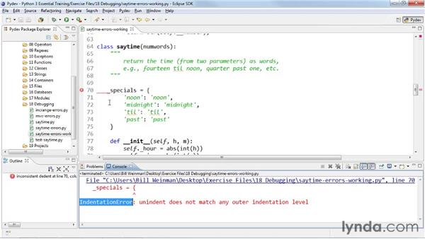 : Python 3 Essential Training