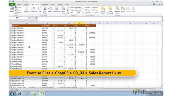 Formatting a workbook: Migrating from Excel 2003 to Excel 2010