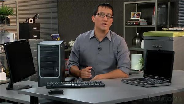Laptop vs. desktop computers: Computer Literacy for Windows 7