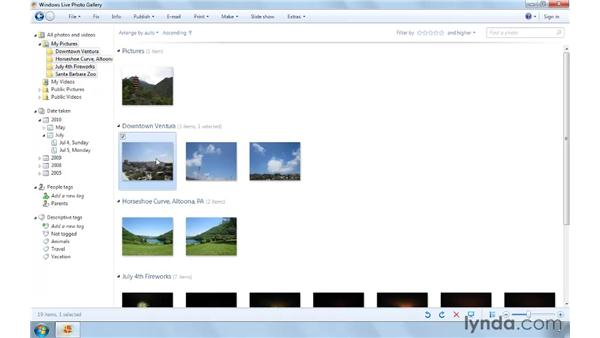 Tagging images: Computer Literacy for Windows 7