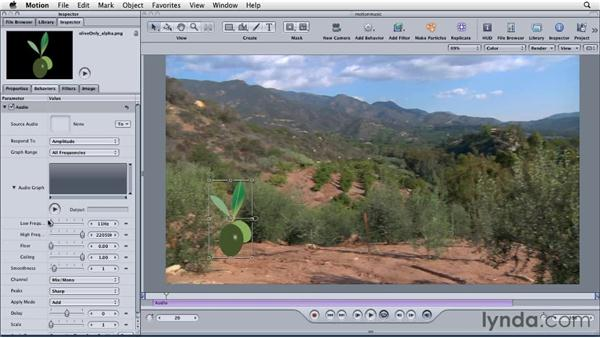 Using audio from Final Cut Pro in Motion: Final Cut Studio: Round-Tripping
