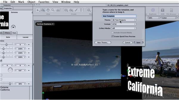 Creating a Motion template for use in Final Cut Pro: Final Cut Studio: Round-Tripping