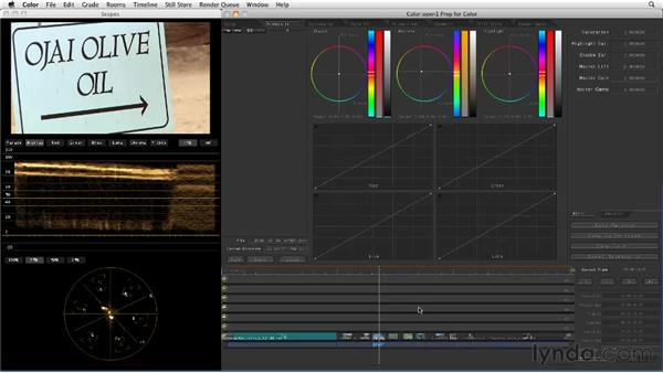 Round-tripping from Final Cut Pro to Color: Final Cut Studio: Round-Tripping