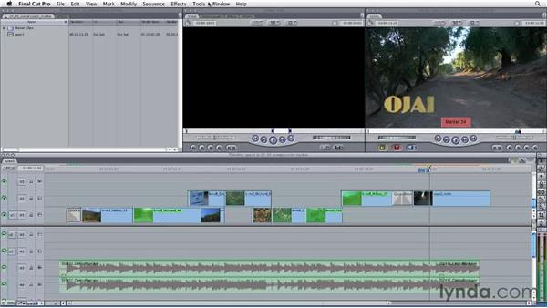Controlling variable data rate with compression markers: Final Cut Studio: Round-Tripping