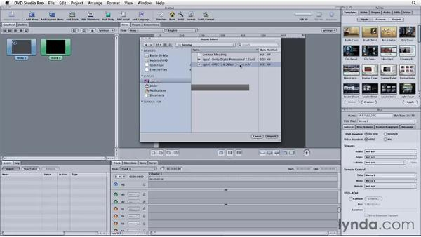 Using the Final Cut Pro to Compressor to DVD Studio Pro workflow: Final Cut Studio: Round-Tripping
