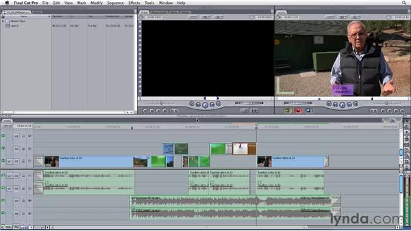 Designating DVD chapters with markers in Final Cut Pro: Final Cut Studio: Round-Tripping