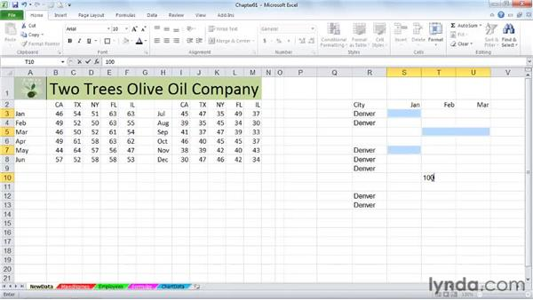 how to clear excel cells simultaneously