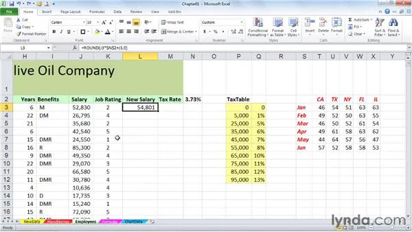 Copying data or formulas down a column instantly: Excel 2010 Power Shortcuts
