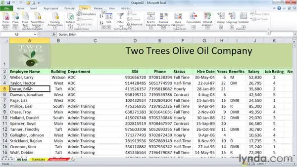 : Excel 2010 Power Shortcuts