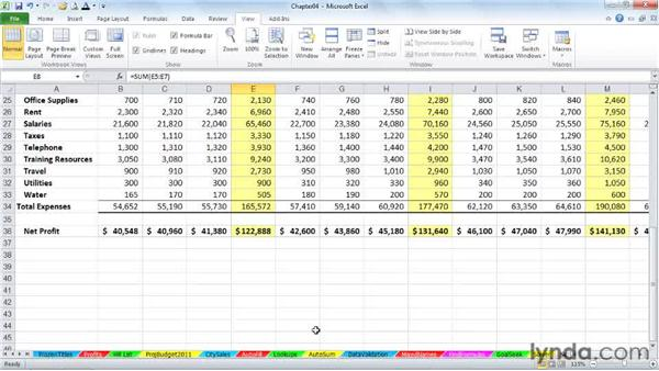 Tips for navigating between workbooks: Excel 2010 Power Shortcuts