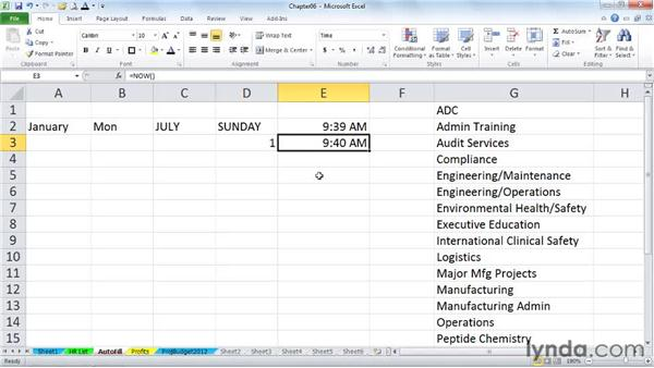 Auto-Fill techniques for entering times: Excel 2010 Power Shortcuts