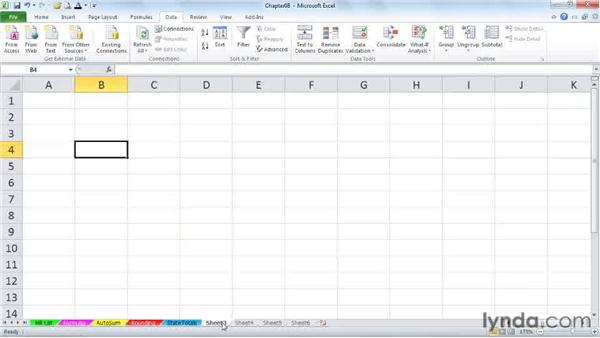 Generating random numbers: Excel 2010 Power Shortcuts