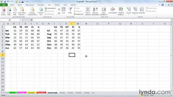 Performing calculations without formulas: Excel 2010 Power Shortcuts