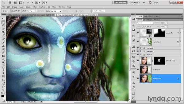 The mission-critical eyes: Photoshop CS5 One-on-One: Advanced