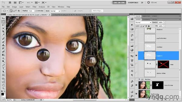 Copy Merged and Paste in Place: Photoshop CS5 One-on-One: Advanced