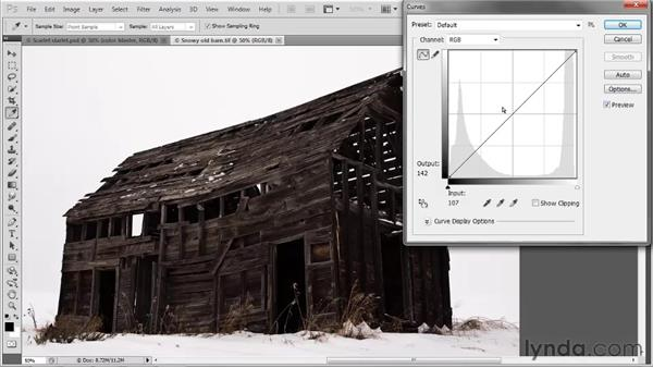 Introducing the Curves command: Photoshop CS5 One-on-One: Advanced