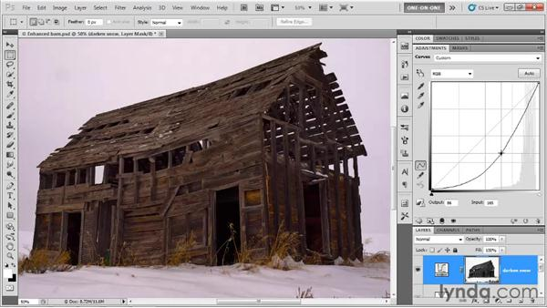 Filling in the highlights: Photoshop CS5 One-on-One: Advanced