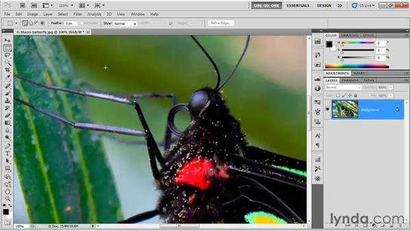 How sharpening works: Photoshop CS5 One-on-One: Advanced