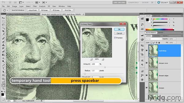 Introducing Unsharp Mask: Photoshop CS5 One-on-One: Advanced