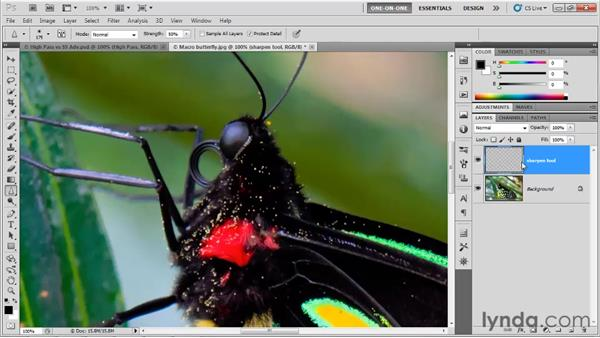 The new and improved Sharpen tool: Photoshop CS5 One-on-One: Advanced