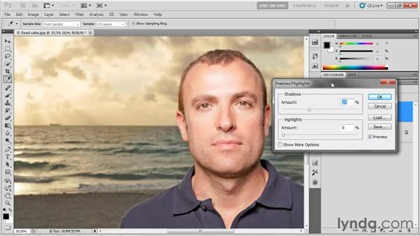 Introducing Shadows/Highlights: Photoshop CS5 One-on-One: Advanced