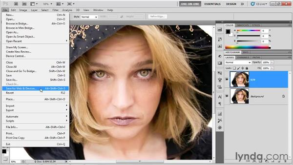 Creating a Shadows/Highlights shortcut: Photoshop CS5 One-on-One: Advanced