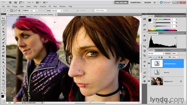 Proofing CMYK colors: Photoshop CS5 One-on-One: Advanced