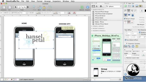 Welcome: OmniGraffle 5: Creating Web Sitemaps and Wireframes