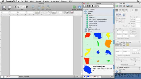 Using stencils: OmniGraffle 5: Creating Web Sitemaps and Wireframes