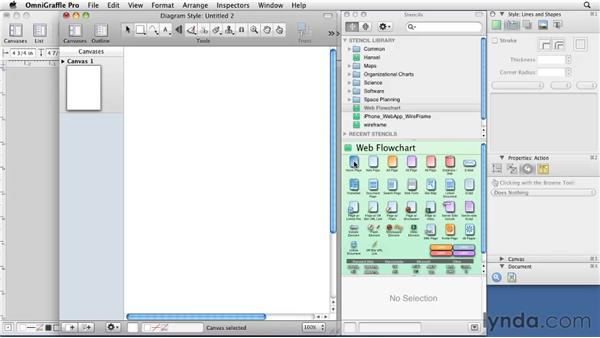 Creating a custom sitemap document style: OmniGraffle 5: Creating Web Sitemaps and Wireframes