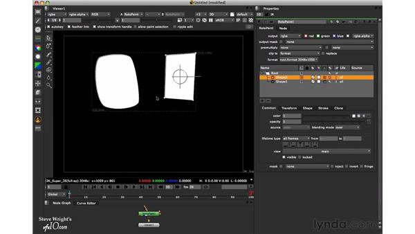 Drawing shapes: Nuke 6 New Features