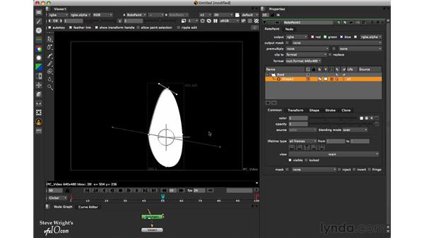Keyframe animation: Nuke 6 New Features