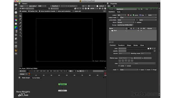 Output settings: Nuke 6 New Features