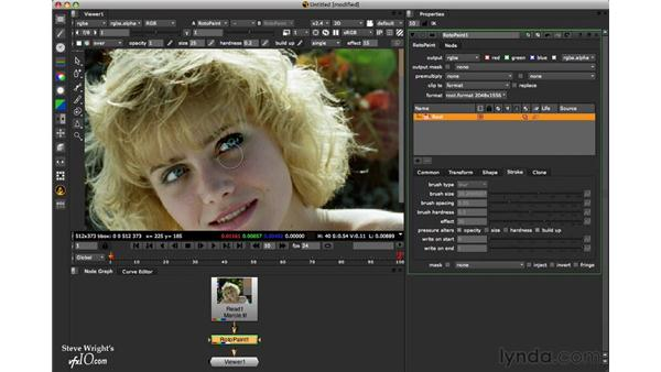 The Blur tool: Nuke 6 New Features