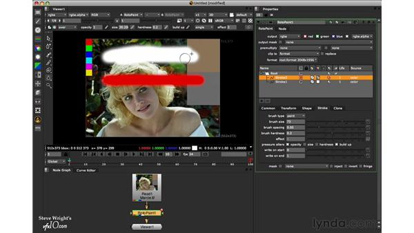 The output mask: Nuke 6 New Features