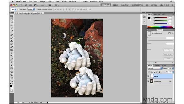 Using Content-Aware Fill: Photoshop CS5: Selections in Depth