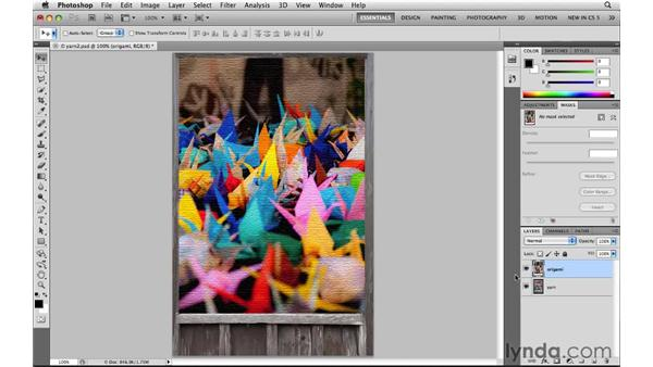 Compositing images: Photoshop CS5: Selections in Depth