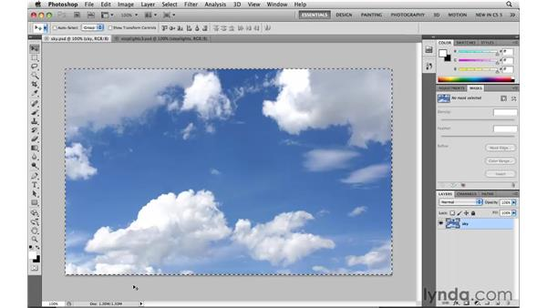Selecting all: Photoshop CS5: Selections in Depth