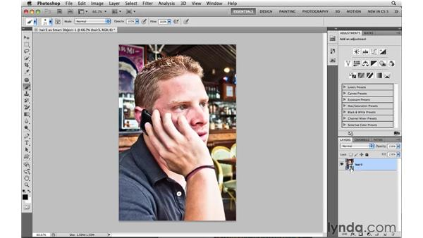 Increasing contrast in Camera Raw: Photoshop CS5: Selections in Depth