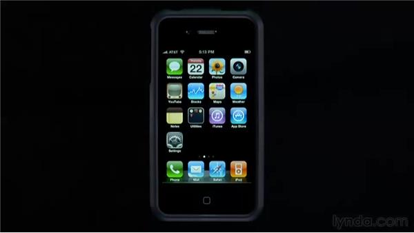 The Home screen and the Home button: iPhone and iPod touch iOS 4 Essential Training