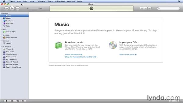 Making sure you have the latest version of iTunes: iPhone and iPod touch iOS 4 Essential Training