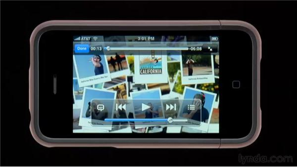 Playing and controlling video: iPhone and iPod touch iOS 4 Essential Training